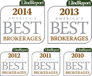 Listed as one of America's Top 100 Brokerages in 2010, 2011, 2012, 2013, and 2014